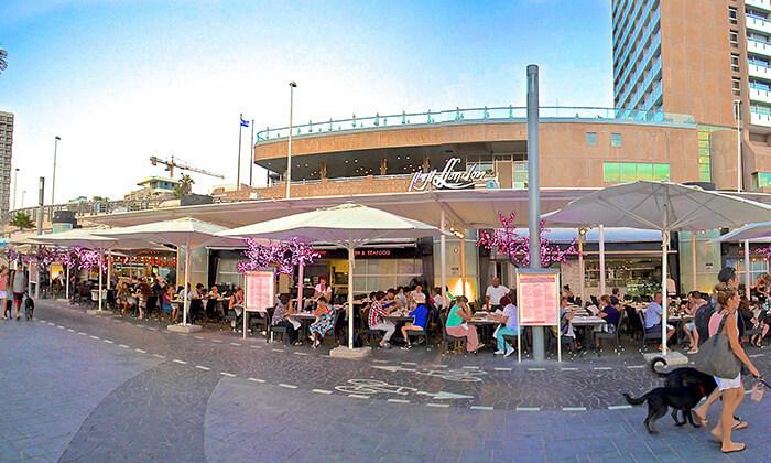 3 ארוחת זוגית בלונדון רסטו קפה, תל אביב