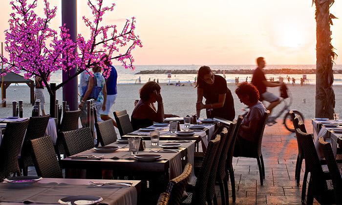 4 ארוחת זוגית בלונדון רסטו קפה, תל אביב