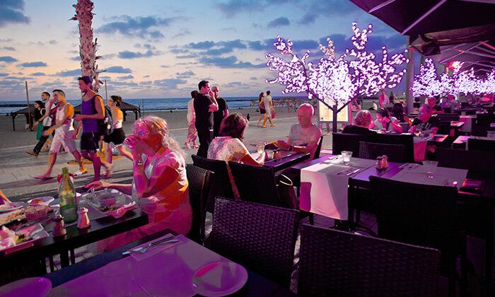 5 ארוחת זוגית בלונדון רסטו קפה, תל אביב