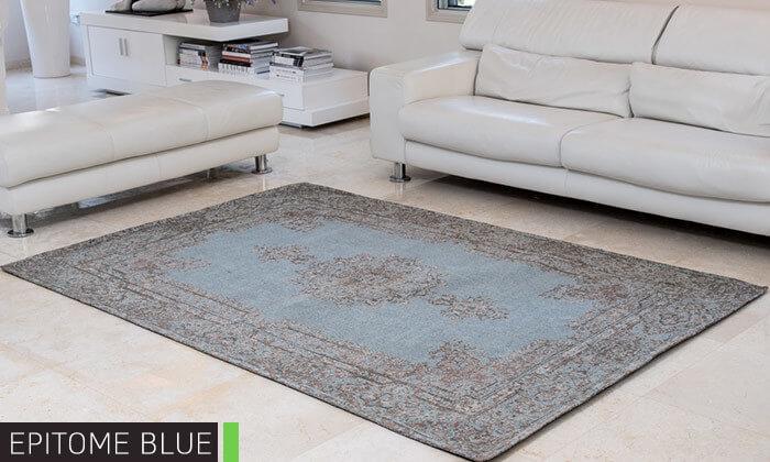 6 שטיח ג'אקרד בעבודת יד