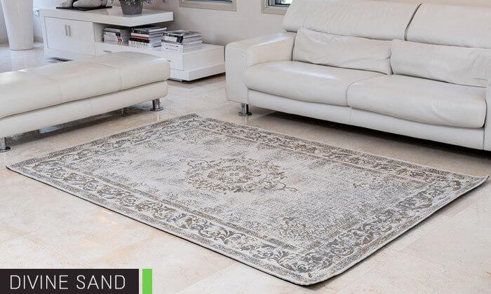 7 שטיח ג'אקרד בעבודת יד