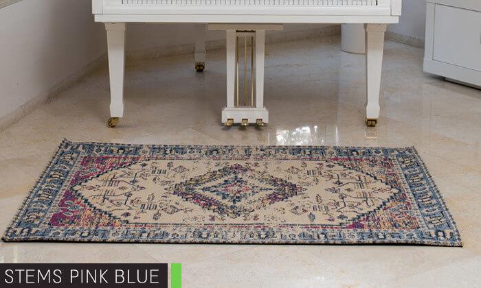 10 שטיח ג'אקרד בעבודת יד