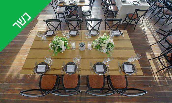 6 ארוחת שיפודים זוגית כשרה במסעדת קאזה, בת ים