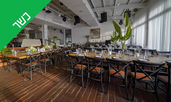 7 ארוחת שיפודים זוגית כשרה במסעדת קאזה, בת ים