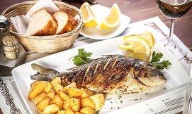 ארוחת דגים זוגית כשרה בקאזה