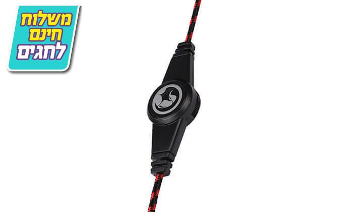 3 אוזניות גיימינג חוטיות עם מיקרופון - משלוח חינם