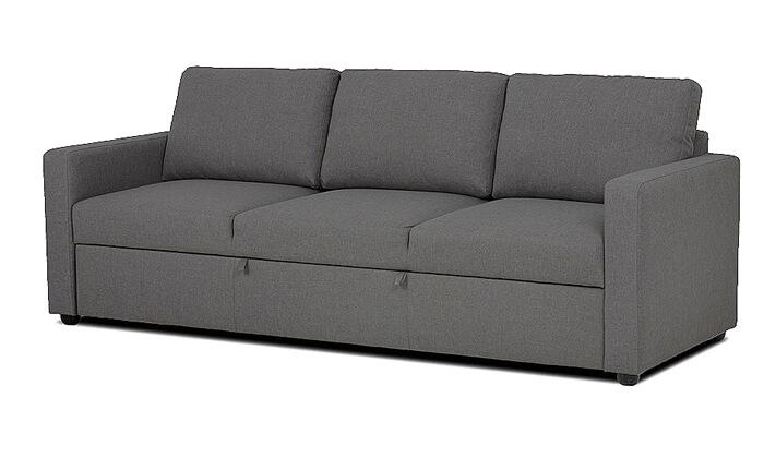 3 ספה תלת-מושבית נפתחת למיטה של שמרת הזורע