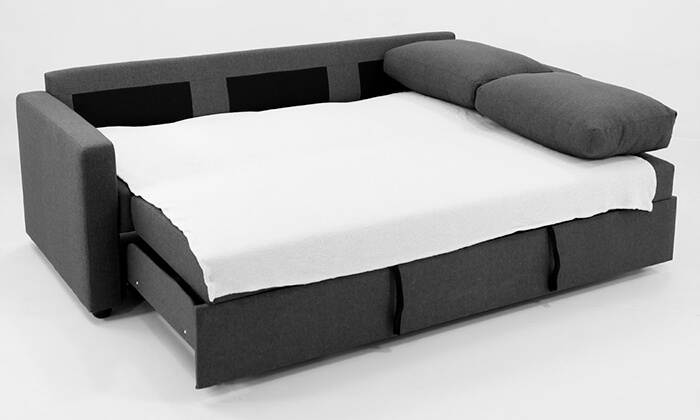 7 ספה תלת-מושבית נפתחת למיטה של שמרת הזורע