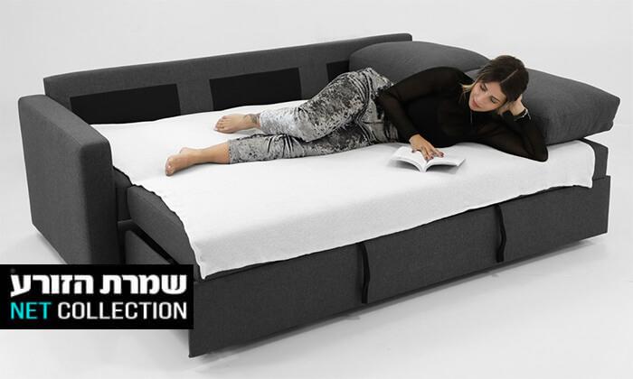 2 ספה תלת-מושבית נפתחת למיטה של שמרת הזורע