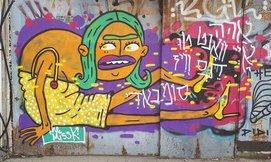 סיורגרפיטי ואומנות רחוב, ת