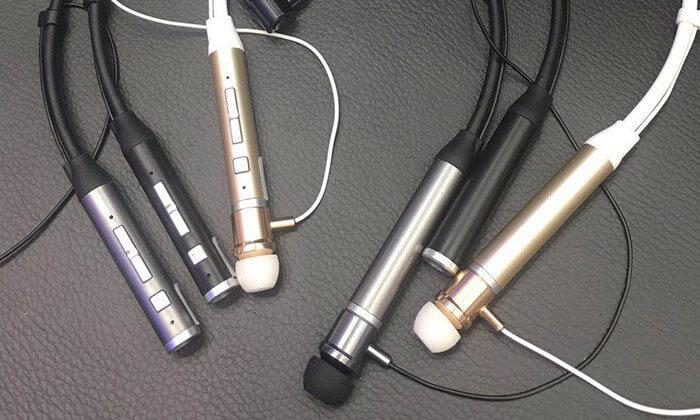 7 אוזניות ספורט אלחוטיות עם קשת עורף