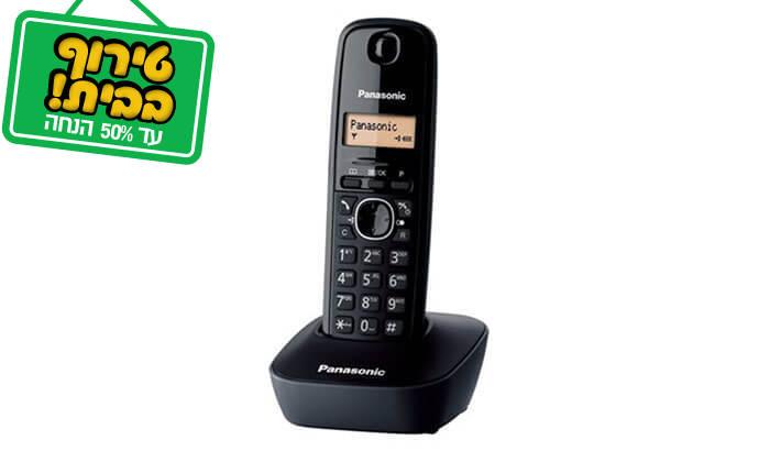 2 טלפון אלחוטי PANASONIC