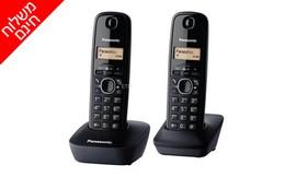 טלפון אלחוטי + שלוחה PANASONIC