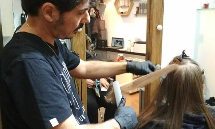 2 טיפולי שיער אצל מעצב השיער Tomer Vanir, קינג' ג'ורג'