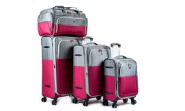סט 3 מזוודותSWISS TWO-TON