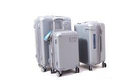 סט 3 מזוודות פוליקרבונט
