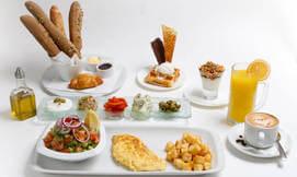 2 ארוחות בוקר בלונדון רסטו קפה