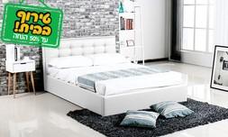 מיטה עם ארגז מצעים
