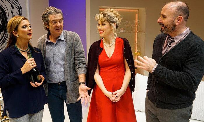 3 כרטיס להצגה 'השקר' בתיאטרון בית החייל תל אביב