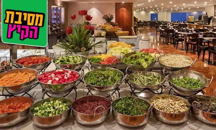 4 ארוחת בוקר במלון קראון פלזה, תל אביב