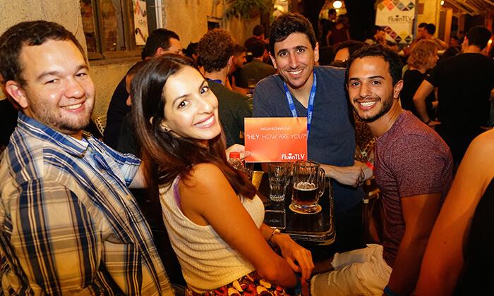 5 FluenTLV: לימוד ותרגול שפה זרה על כוס בירה במבחר ברים בתל אביב