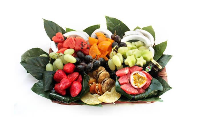 3 הזמנת סלסלאות ומגשי פירות אקזוטיים