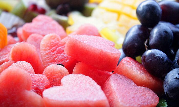 4 הזמנת סלסלאות ומגשי פירות אקזוטיים