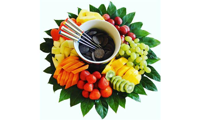 5 הזמנת סלסלאות ומגשי פירות אקזוטיים