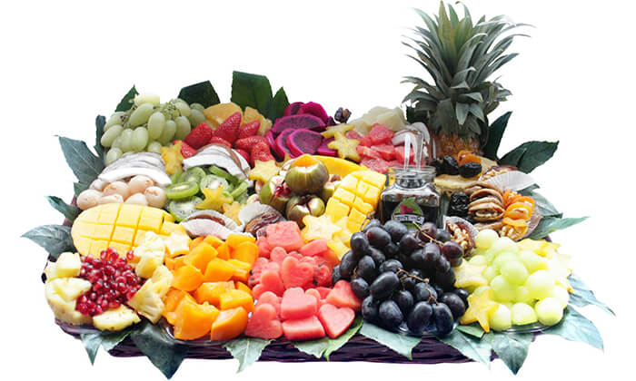 9 הזמנת סלסלאות ומגשי פירות אקזוטיים