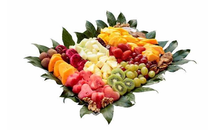 12 הזמנת סלסלאות ומגשי פירות אקזוטיים