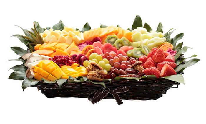 13 הזמנת סלסלאות ומגשי פירות אקזוטיים