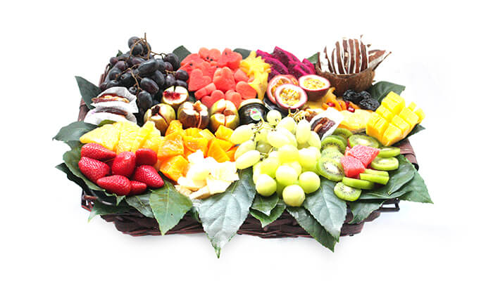 14 הזמנת סלסלאות ומגשי פירות אקזוטיים