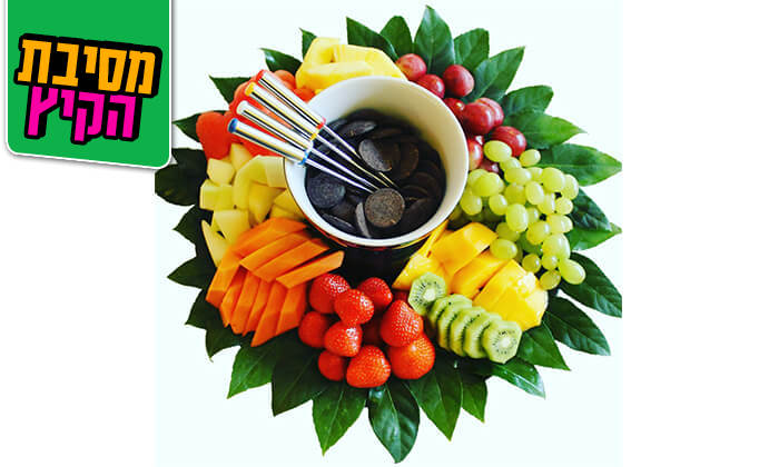 5 הזמנת סלסלות ומגשי פירות אקזוטיים