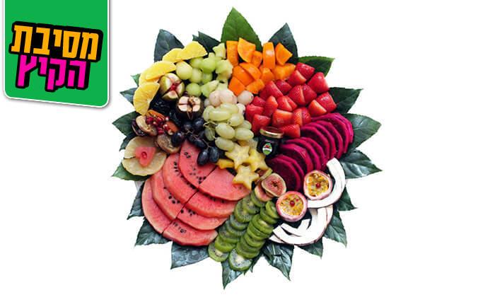 10 הזמנת סלסלות ומגשי פירות אקזוטיים