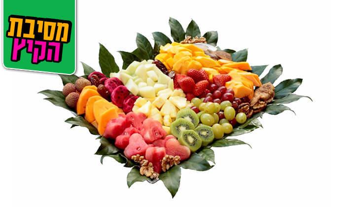 12 הזמנת סלסלות ומגשי פירות אקזוטיים