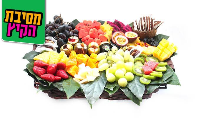 14 הזמנת סלסלות ומגשי פירות אקזוטיים