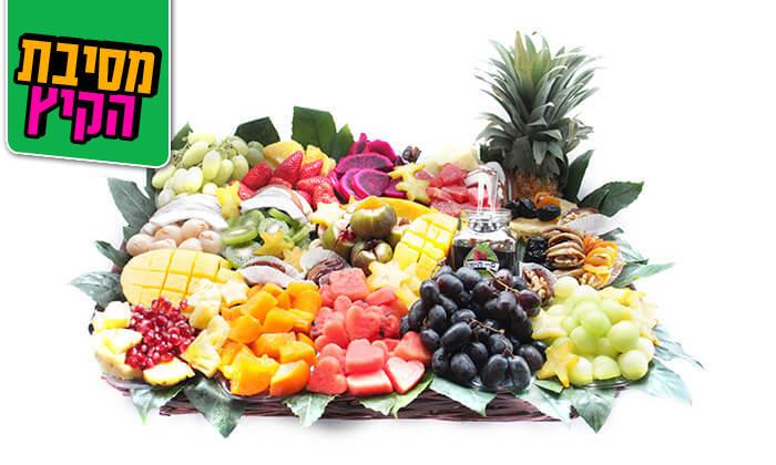2 הזמנת סלסלות ומגשי פירות אקזוטיים
