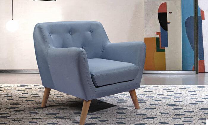 5 כורסה בעיצוב רטרו לסלון הום דקור - HOME DECOR