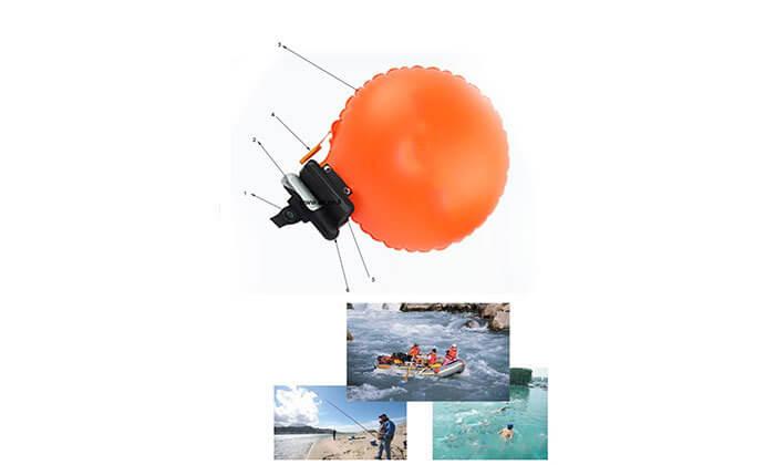 3 צמיד הצלה חכם המסייע במקרה של סכנת טביעה