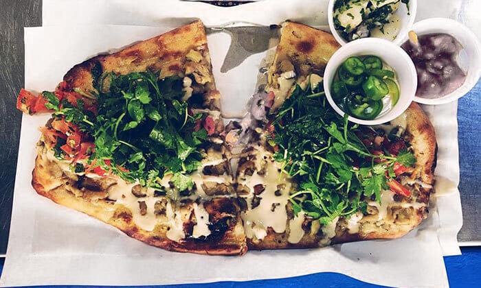 5 ארוחה בדוכן האוכל 'ג'ונאם', תל אביב