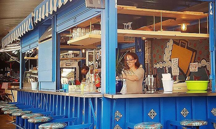 11 ארוחה בדוכן האוכל 'ג'ונאם', תל אביב