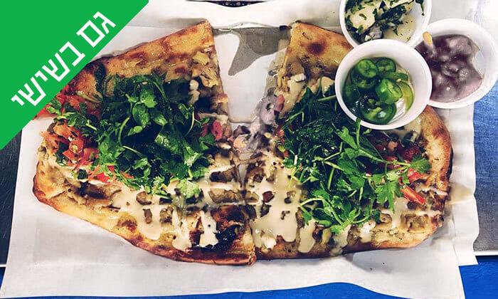 5 ארוחה בדוכן האוכל 'ג'ונאם', שרונה מרקט תל אביב