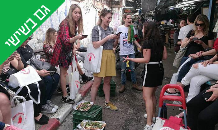 6 ארוחה בדוכן האוכל 'ג'ונאם', שרונה מרקט תל אביב