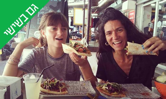 7 ארוחה בדוכן האוכל 'ג'ונאם', שרונה מרקט תל אביב