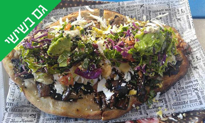 4 ארוחה בדוכן האוכל 'ג'ונאם', שרונה מרקט תל אביב