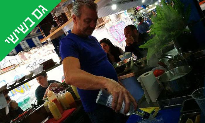 9 ארוחה בדוכן האוכל 'ג'ונאם', שרונה מרקט תל אביב
