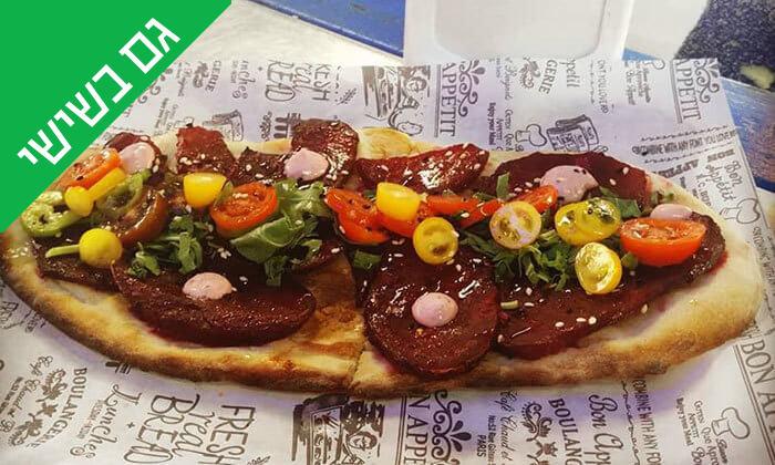 3 ארוחה בדוכן האוכל 'ג'ונאם', שרונה מרקט תל אביב