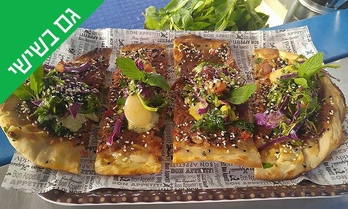 14 ארוחה בדוכן האוכל 'ג'ונאם', שרונה מרקט תל אביב