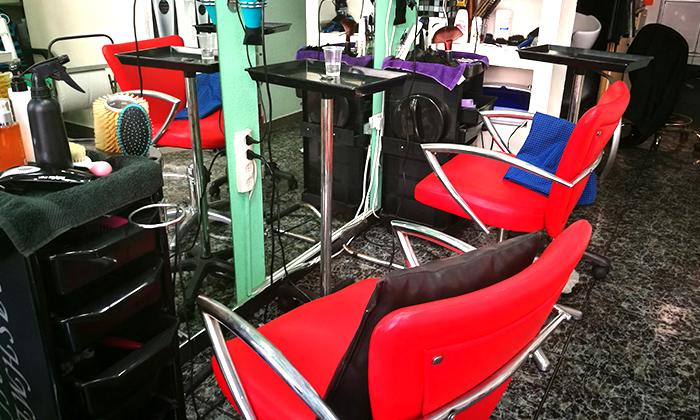 3 תספורת וטיפולי שיער בסטודיו ויולטה, פלורנטין תל-אביב