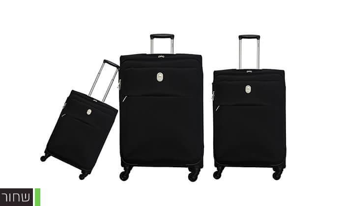 4 סט 3 מזוודות דלסי DELSEY